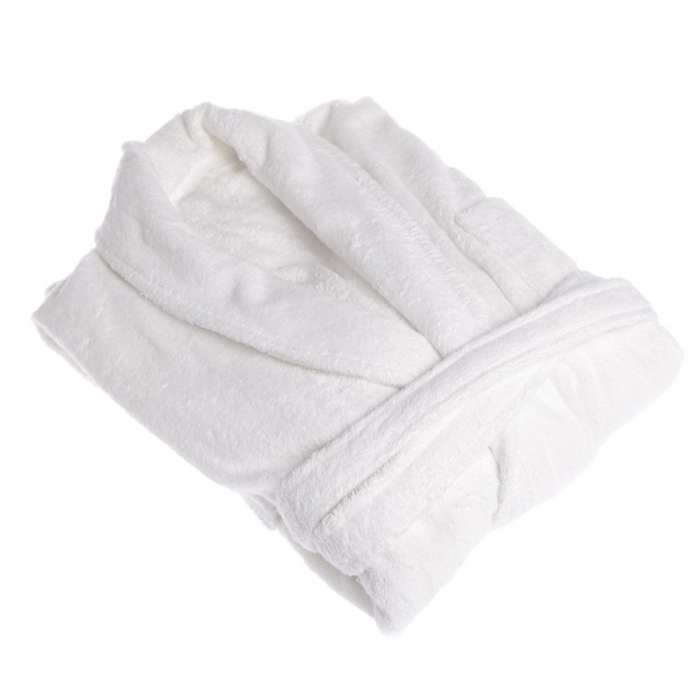 Bademantel 100 % Cotton Einheitsgröße L / XL