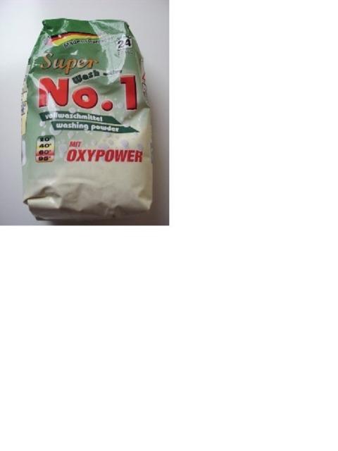 No.1 Vollwaschmittel 2 kg  MADE in GERMANY