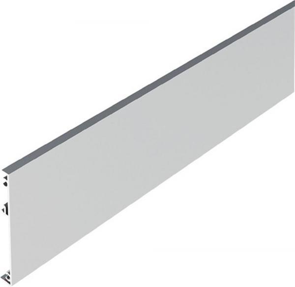 Blende zum Aufclipsen Alu., L.2100 mm, Holztüren