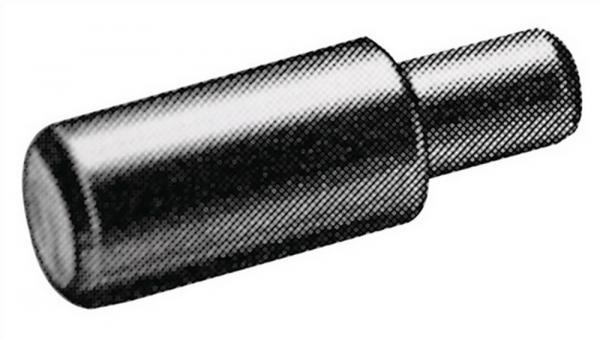 Bodenträger 16181 für 5mm Lochreihe Holzböden Zinkdruckguß vernickelt, 500 Stück