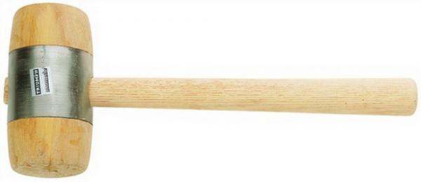 Holzhammer D. 80mm 840g Weißbuche Eschenstiel oval