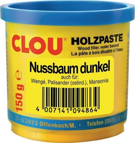 Holzpaste Nr.13 nussbaum dunkel, 150 g Dose