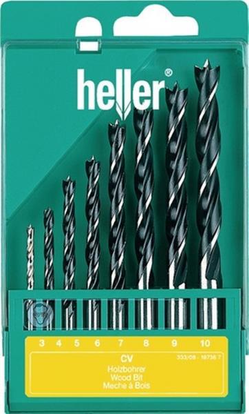 Holzspiralbohrersatz 8 tlg. D.3,4,5,6,7,8,9,10 mm
