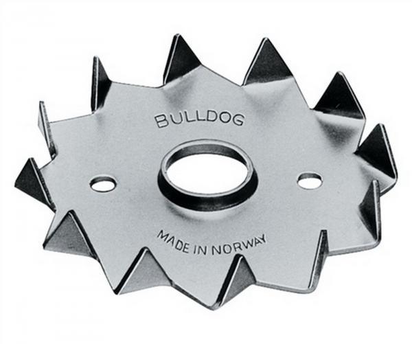 Holzverbinder DIN1052 Bulldog Typ C2-117M20G-B Außen-D.117mm Innen-D.M20mm, 36 Stück