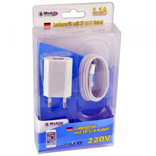 Ladegerät Set 220V iPh 5/6/7/8/X kompatibel