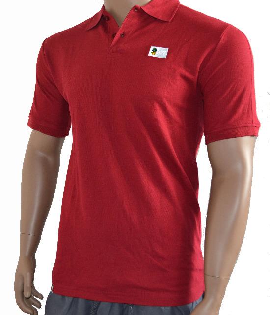 Polo Shirt Kinder Weinrot FC Augsburg Größe 140