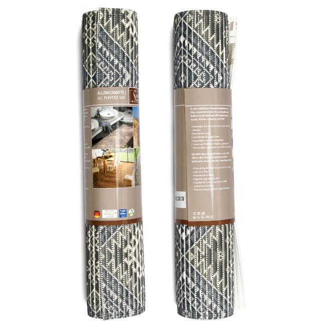 28-126303, Bodenmatte 200 x 65 cm, Allzweckmatte, Badmatte, rutschhemmend, schmutzabweisend