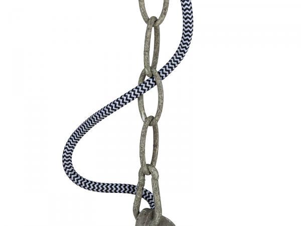 Hängeleuchte Quarry D21x35 Metall grau