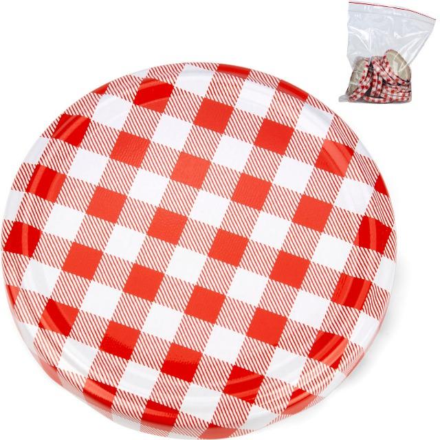 28-330215, Einweckglasdeckel D 82mm, 15er Pack, Schraubdeckel für Einmachglas, Einmachgläser, Einweckglas