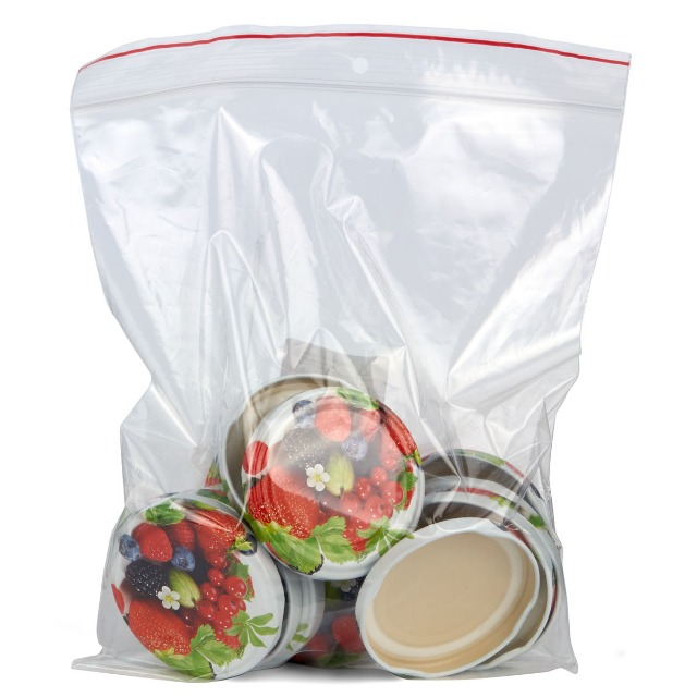 28-330222, Einweckglasdeckel D 66mm, 15er Pack, Früchte Motiv, Schraubdeckel für Einmachglas, Einmachgläser, Einweckglas