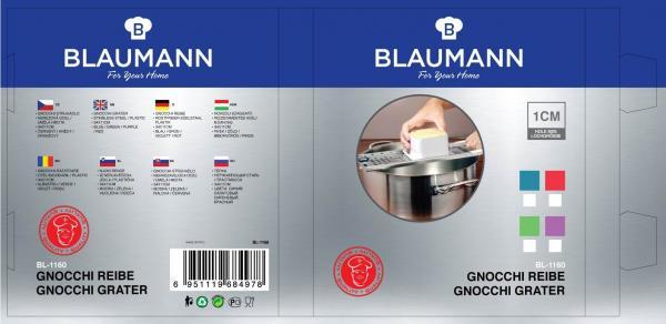 Blaumann BL-1160, Gnocchi Reibe 10mm Grün
