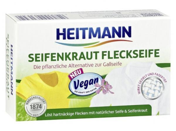 Heitmann Seifenkraut Fleckenseife 100 g, Vegan