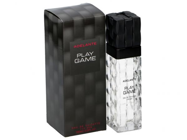Parfüm Eau de Toilette ''Play Game'' Men EDT, Adelante, 100ml im Glasflacon, Faltschachtel
