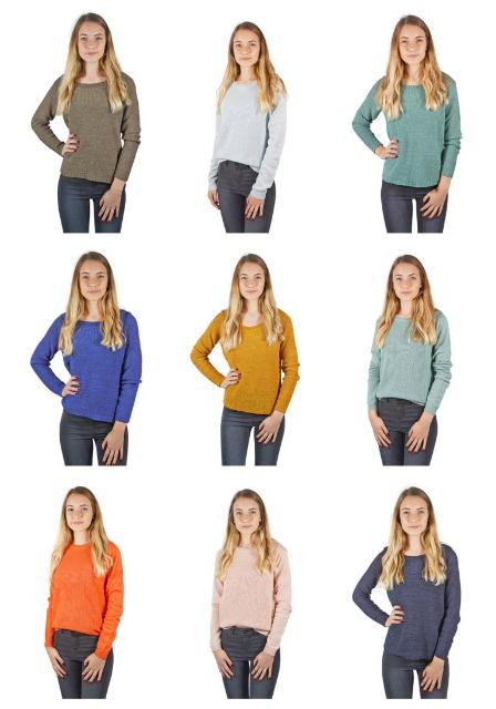 Damen Vero Moda Pullover Strick Sweater Textilien Mix