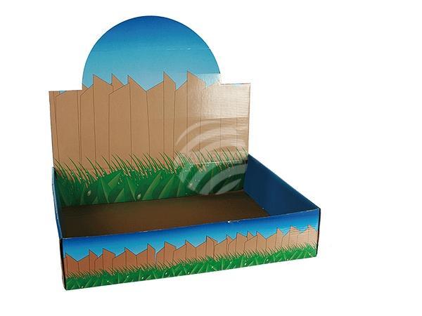 Karton-Displaybox für rollende & lachende Tiere
