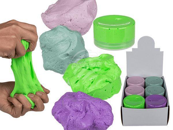 Knete, Fluffy, ca. 150 g, 4-farbig sortiert