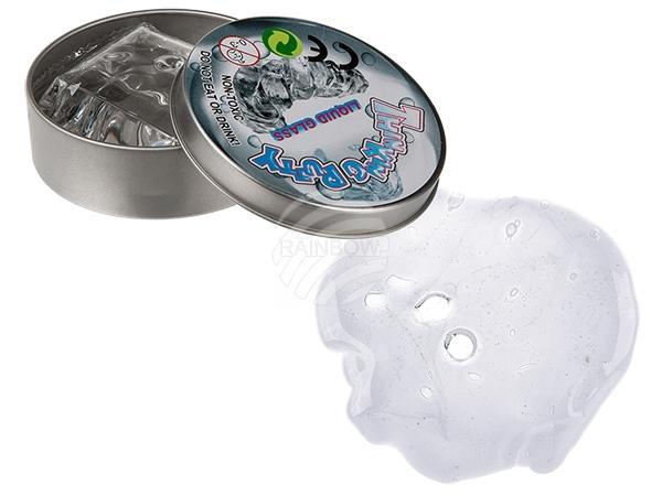 Kristallklare Knete in Dose, ca. 60 g