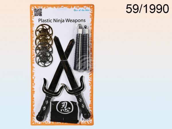 Kunststoff-Waffen, Ninja, Schwert ca. 36 cm