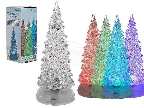 Kunststoff-Weihnachtsbaum, Liquid, mit LED