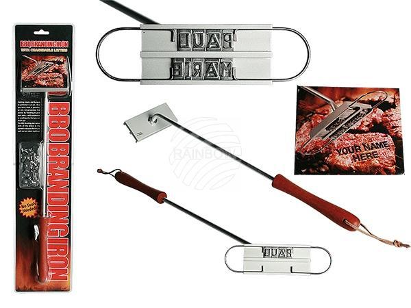 Metall-Stempel für Grillfleisch mit Buchstaben