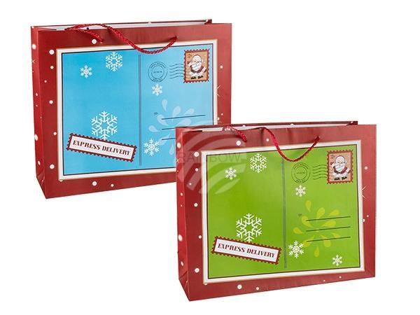 Papier-Geschenktüte, Weihnachts-Briefumschlag