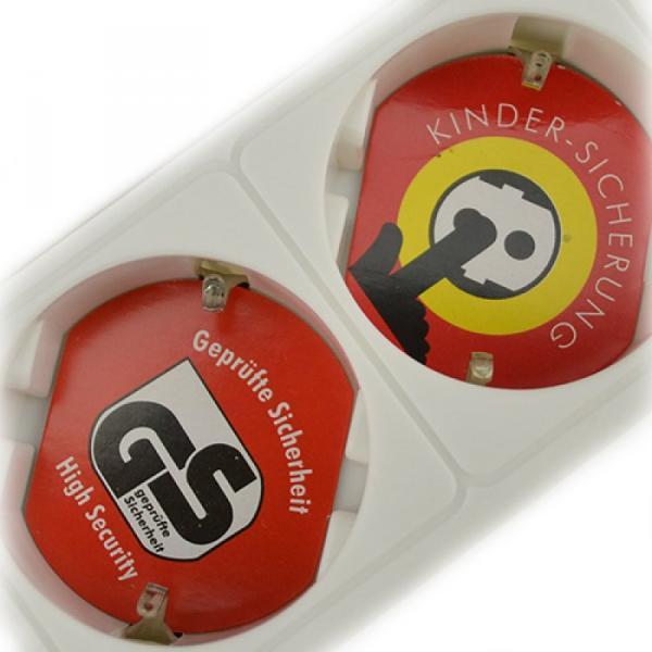 Steckdosenleiste 5 fach mit Schalter