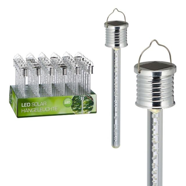 28-664715, Solar Hängeleuchte mit LED Licht, Partylicht, Terrasse, Garten, Balkon, usw