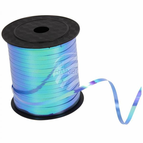 !Geschenkband Dekoband blau blautöne Farbverlauf