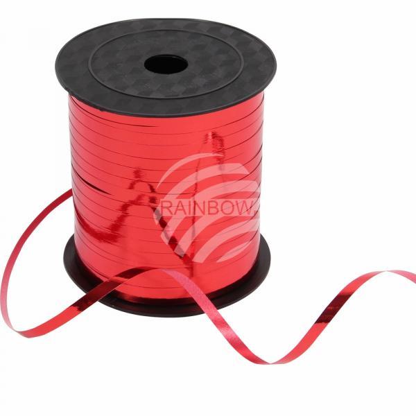 !Geschenkband Dekoband rot glänzend ca. 228,6m