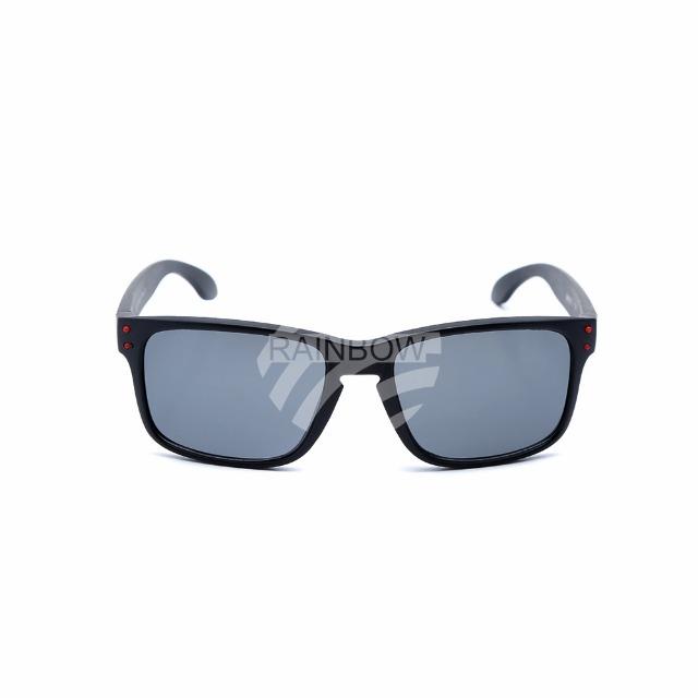 K-126A Retro Vintage VIPER Kinder Sonnenbrille Sonnenbrillen farbige Applikationen am Rahmen schwarz