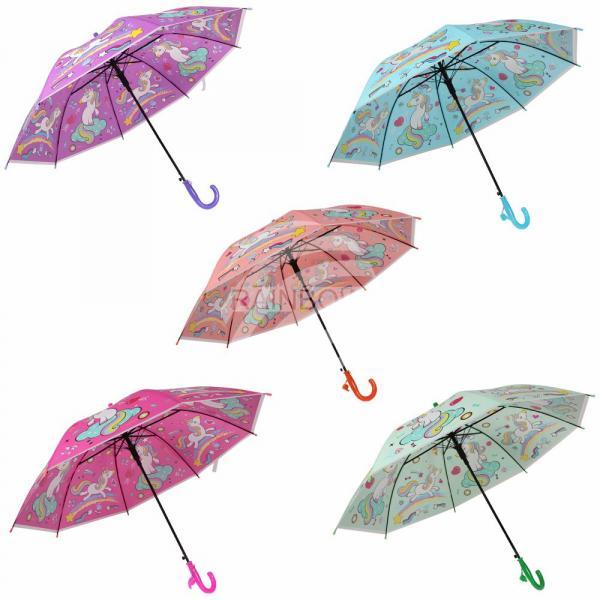 Kinder Regenschirm sortiert Einhörner Süßigkeiten