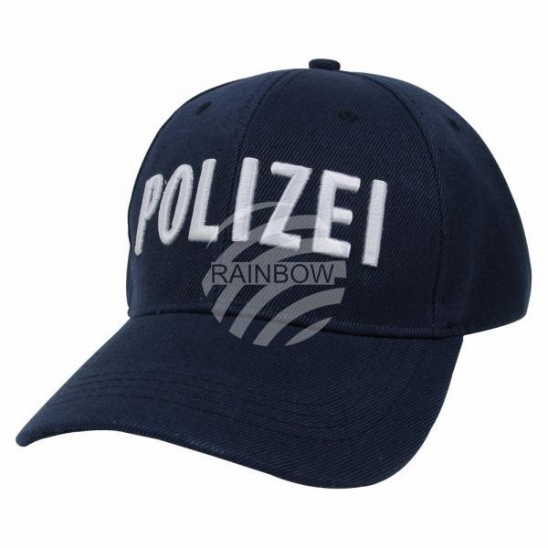 Verkleidung Basecap Kappe Kostüm blau Polizei