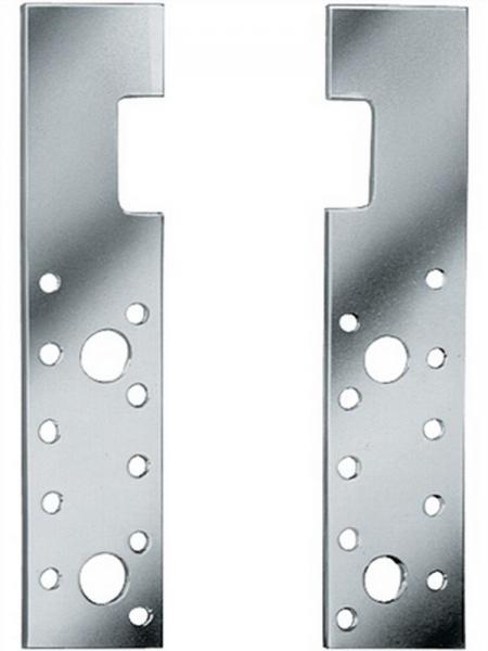Holz-Eisen-Anker HE 175, 175 x 40 x 4 mm feuerverzinkt, 100 Stück