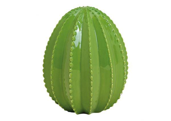 Kaktus aus Keramik Grün (B/H/T) 11x14x11cm
