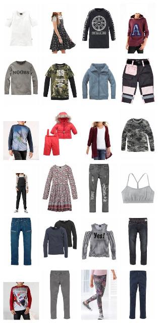 Kinderbekleidung Paletten Marken Kindermode Buffalo Bench etc Restposten Kinder