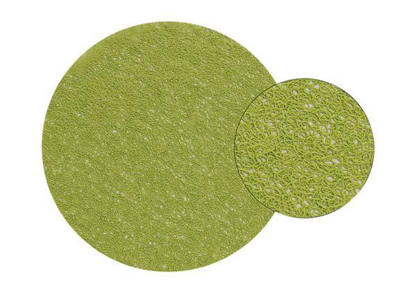 Platzset in grün aus Kunststoff, 38 cm