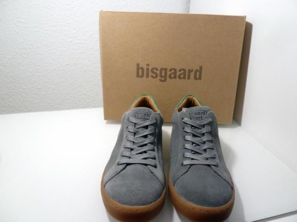 Bisgaard Leder Sneaker Antracit ( grau/grün) 33107.118 Gr.28