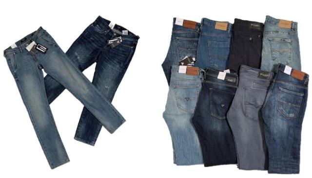 Guess Jeans Herren Marken Hosen Markenjeans Mix Restposten