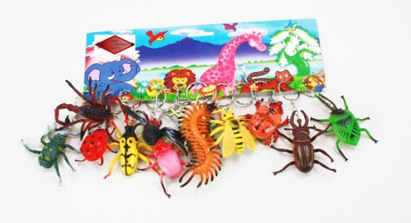 Insekten an Schlüsselanhänger - ca 5 - 10 cm
