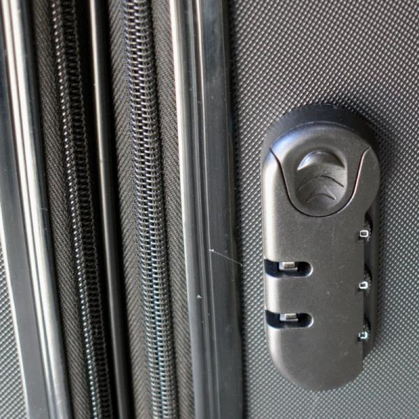 Koffer Set 3 teilig *ABS & Expandable* - grau/silber