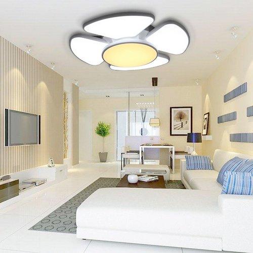 VINGO 90W LED Deckenleuchte IP44 Deckenbeleuchtung Leuchte Energiespar Deckenlampe metall, [Energieklasse A++]