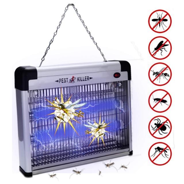 Hengda 12W Mückenlampe UV-Licht Insektenkiller Chemiefrei Insektenvernichter Chemiefrei Insektenlampe Elektrisch