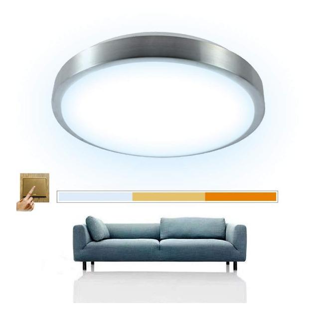 Deckenlampe 16W Scene Switch Leuchte Deckenleuchte ?344*90mm Deckenleuchten Wohnzimmer Deckenlampe