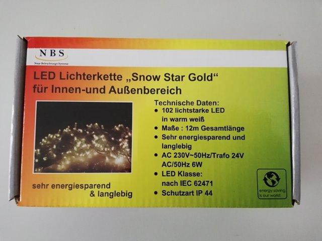LED-Weihnachtslichterkette