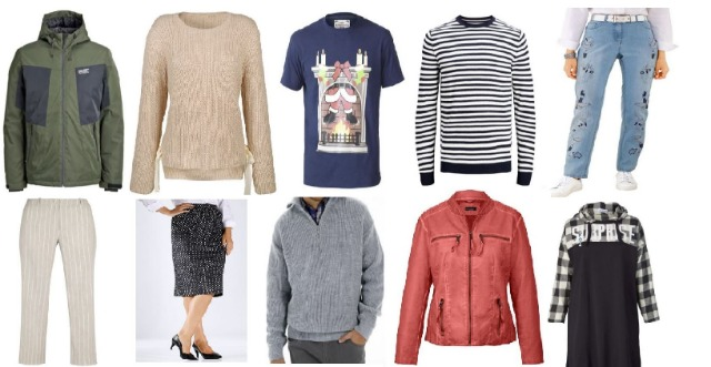 Damen- und Herren Mode in Mix