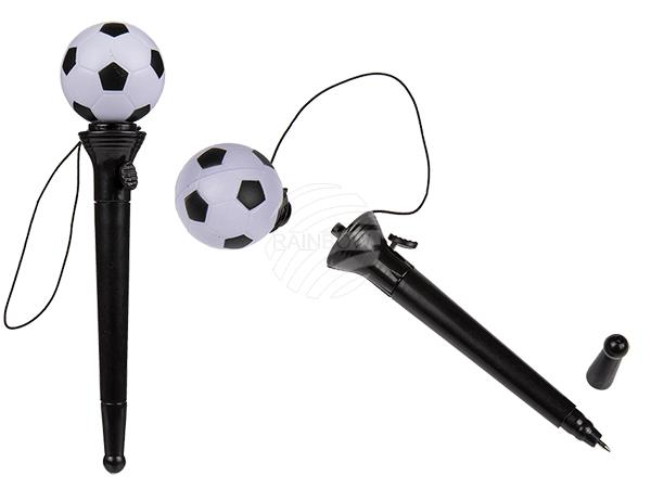 Kunststoff-Kugelschreiber, Fußball