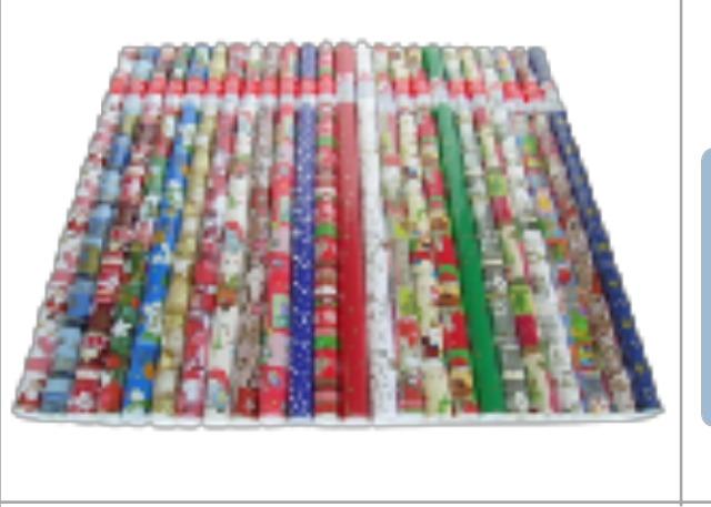 Weihnachtsgeschenkpapier Geschenkpapier Weihnachten Sonderposten 200 x 70 cm Markenware