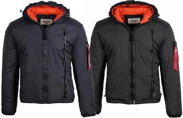 Herren Men Trend Jacke Winterjacke Outdoorjacke Nylonjacke Warm gefüttert Kapuze Langarm Jacken Oberteile Winter - 19,90 Euro