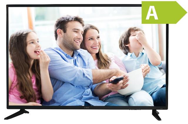 Denver LED-5571 55 Zoll 4K Ultra-HD LED TV Fernseher mit Triple Tuner, DVB-T2 /-C /-S2 HDMI, Ci+ Energieeffizienzklasse A