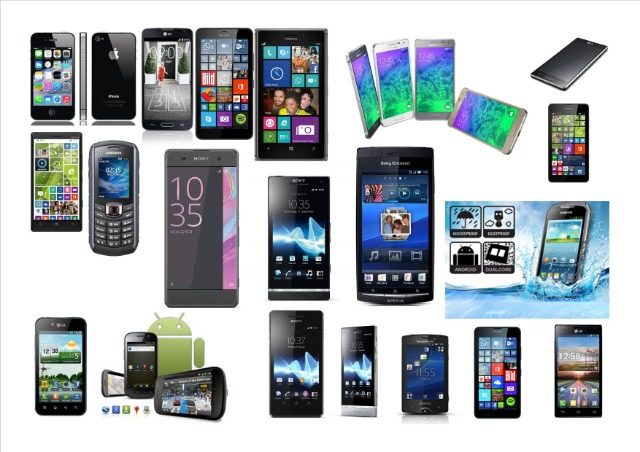 Testpaket Smartphone Paket, 15 Smartphone bis 6
